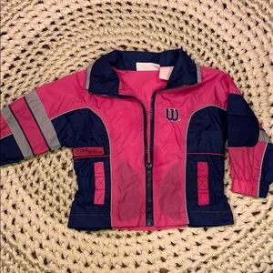 Very cute girly sports windbreaker